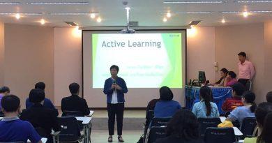 ปิดกิจกรรมอบรมของคณะครูโรงเรียนในสังกัด อบจ.เชียงใหม่ ที่เข้าอบรมเชิงปฏิบัติการ Active Learning
