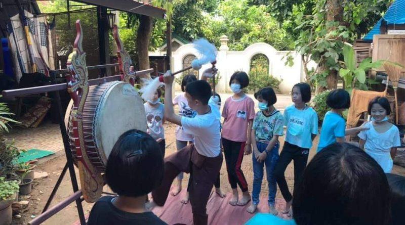 โครงการอบรมอนุรักษ์ และส่งเสริมภูมิปัญญาท้องถิ่นด้านหัตถกรรมและศิลปะพื้นบ้าน ประจำปี 2563 ณ ศูนย์การเรียนรู้สลีปิงจัยแก้วกว้าง