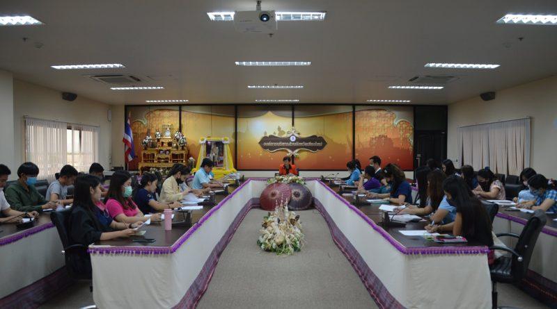 ประชุมประจำเดือน สิงหาคม ณ  สำนักการศึกษา ศาสนาและวัฒนธรรม ห้องประชุมองค์การบริหารส่วนจังหวัดเชียงใหม่ ชั้น 4